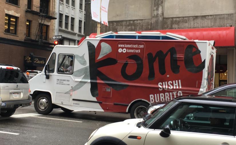 サンフランシスコで話題の食べ物!ボバティー&クロッフィン&寿司ブリトー
