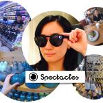 見たままの世界が撮れるメガネ型カメラSpectacles! 愛用してます